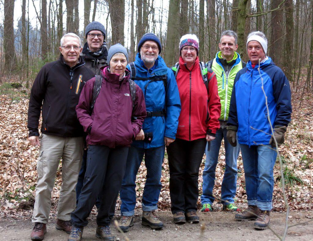 Fast noch Winter: Märzwanderung bei Winzenburg im Sackwald